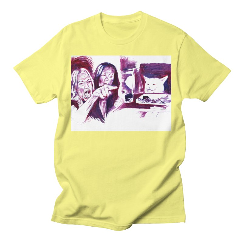 """confused Women's T-Shirt by Art Prints by Seamus Wray available under """"Home"""""""