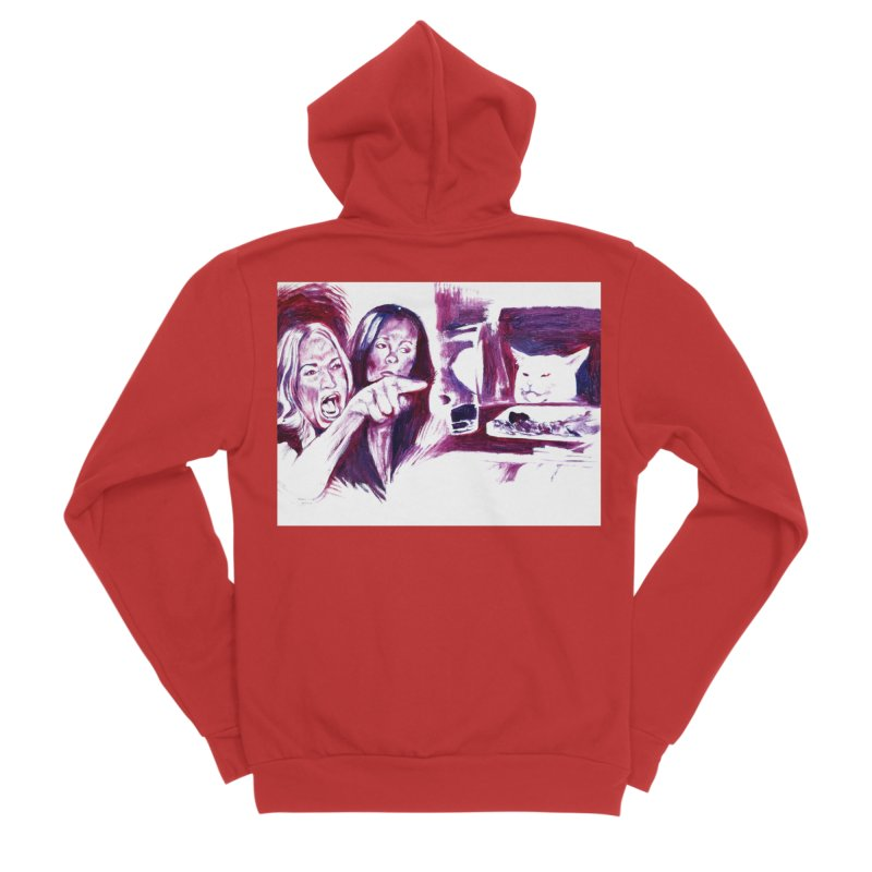 """confused Women's Zip-Up Hoody by Art Prints by Seamus Wray available under """"Home"""""""
