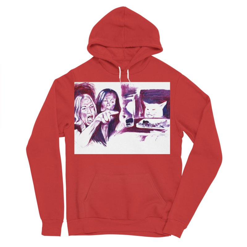 confused Men's Pullover Hoody by paintings by Seamus Wray