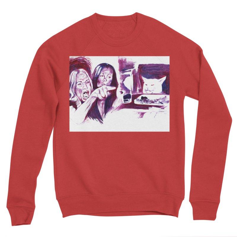 confused Women's Sweatshirt by paintings by Seamus Wray