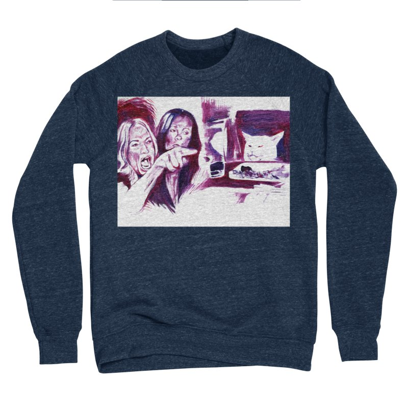"""confused Women's Sweatshirt by Art Prints by Seama available under """"Home"""""""