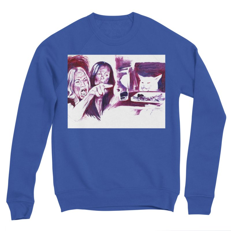 confused Women's Sweatshirt by paintings by Seamus Wray