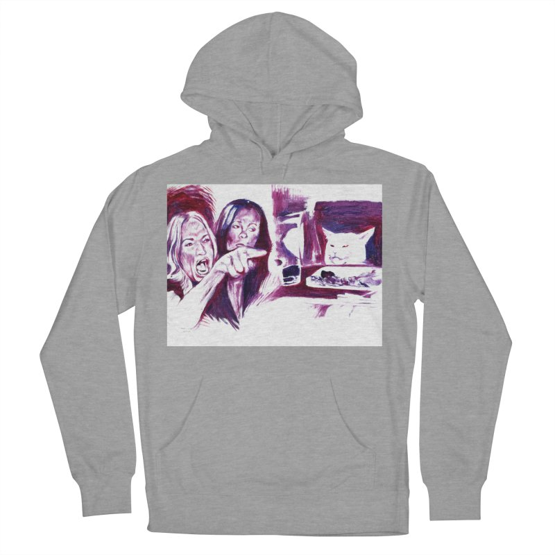confused Women's Pullover Hoody by paintings by Seamus Wray