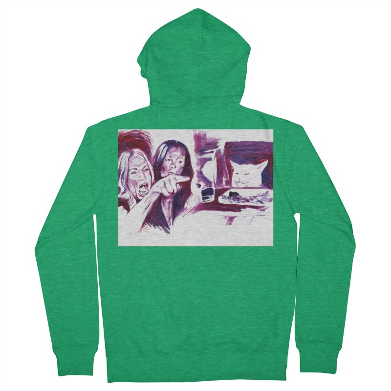 "confused Women's Zip-Up Hoody by Art Prints by Seama available under ""Home"""