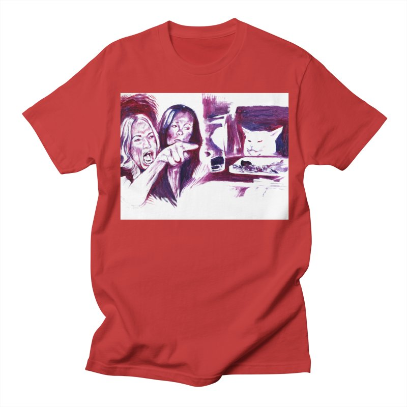 """confused Men's T-Shirt by Art Prints by Seama available under """"Home"""""""