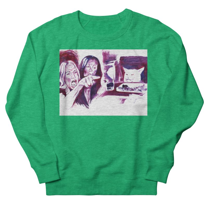 "confused Women's Sweatshirt by Art Prints by Seama available under ""Home"""