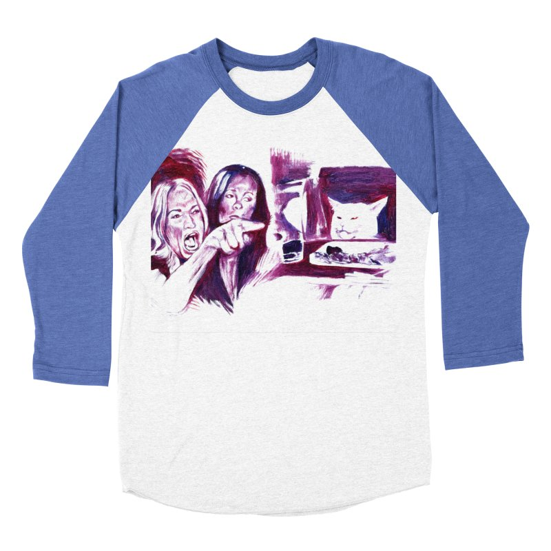 confused Women's Longsleeve T-Shirt by paintings by Seamus Wray