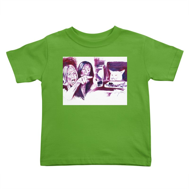 """confused Kids Toddler T-Shirt by Art Prints by Seamus Wray available under """"Home"""""""