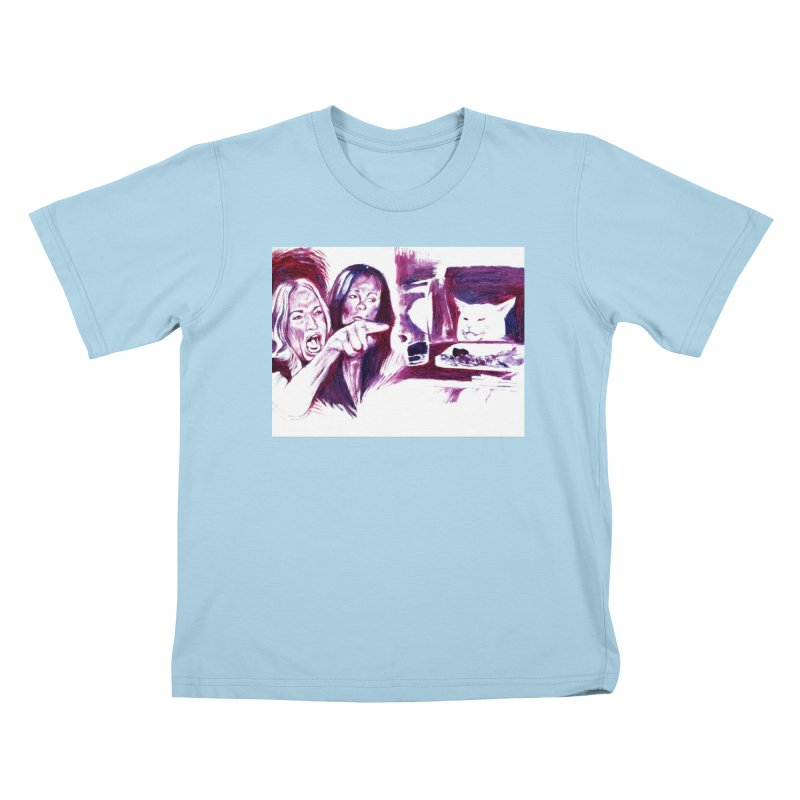 """confused Kids T-Shirt by Art Prints by Seama available under """"Home"""""""
