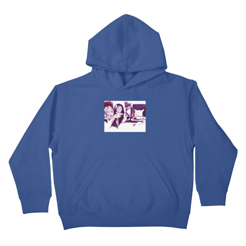 """confused Kids Pullover Hoody by Art Prints by Seama available under """"Home"""""""