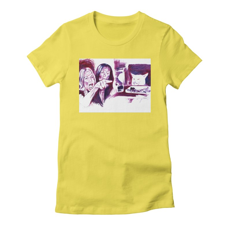 """confused Women's T-Shirt by Art Prints by Seama available under """"Home"""""""