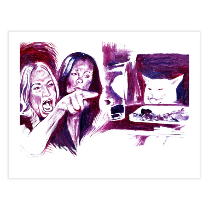 """confused Home Fine Art Print by Art Prints by Seamus Wray available under """"Home"""""""