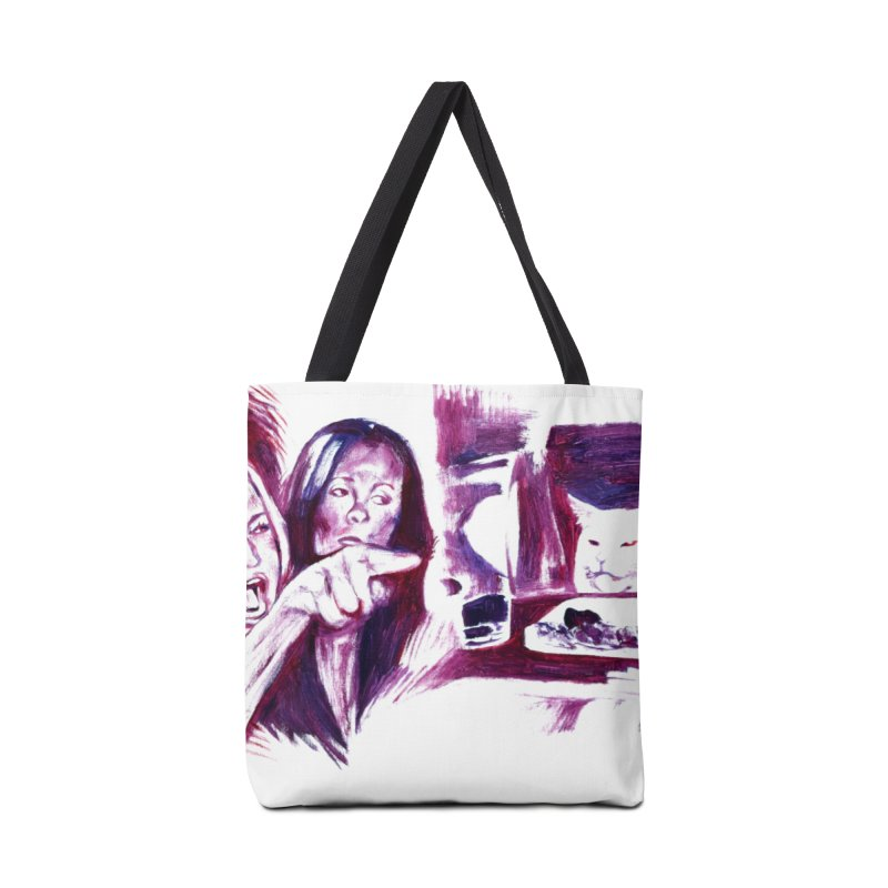 confused Accessories Tote Bag Bag by paintings by Seamus Wray