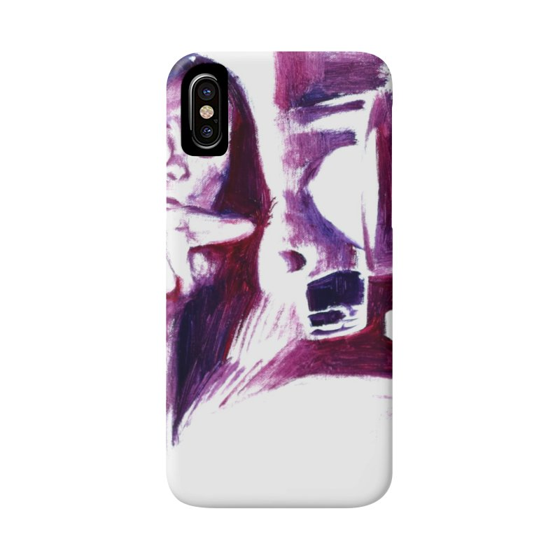 confused Accessories Phone Case by paintings by Seamus Wray