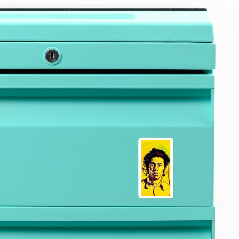 """bob Accessories Magnet by Art Prints by Seamus Wray available under """"Home"""""""