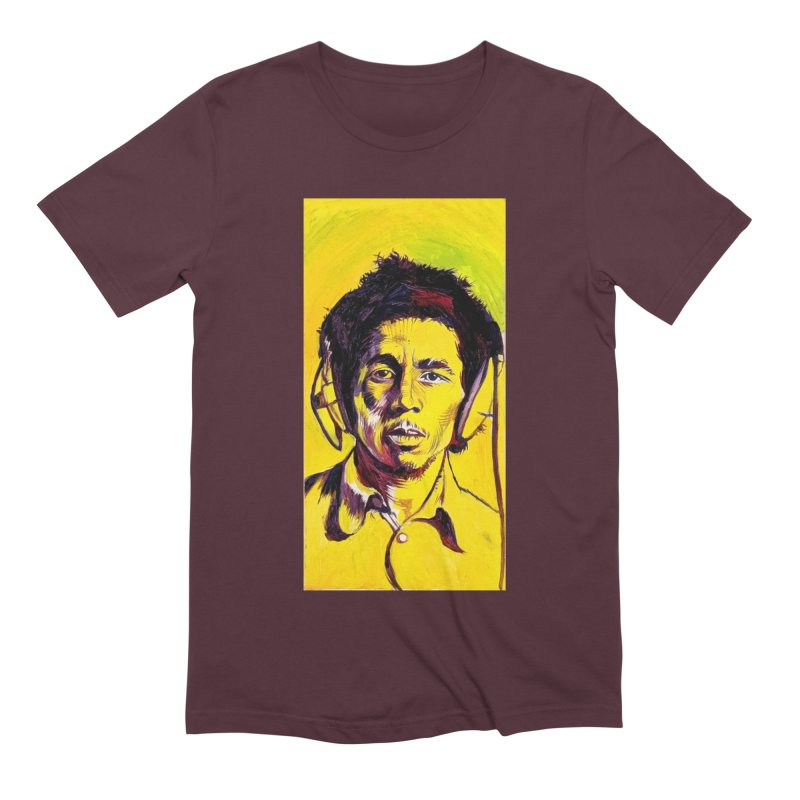 bob Men's Extra Soft T-Shirt by paintings by Seamus Wray