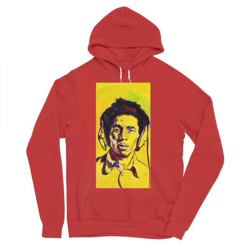 bob Women's Pullover Hoody by paintings by Seamus Wray