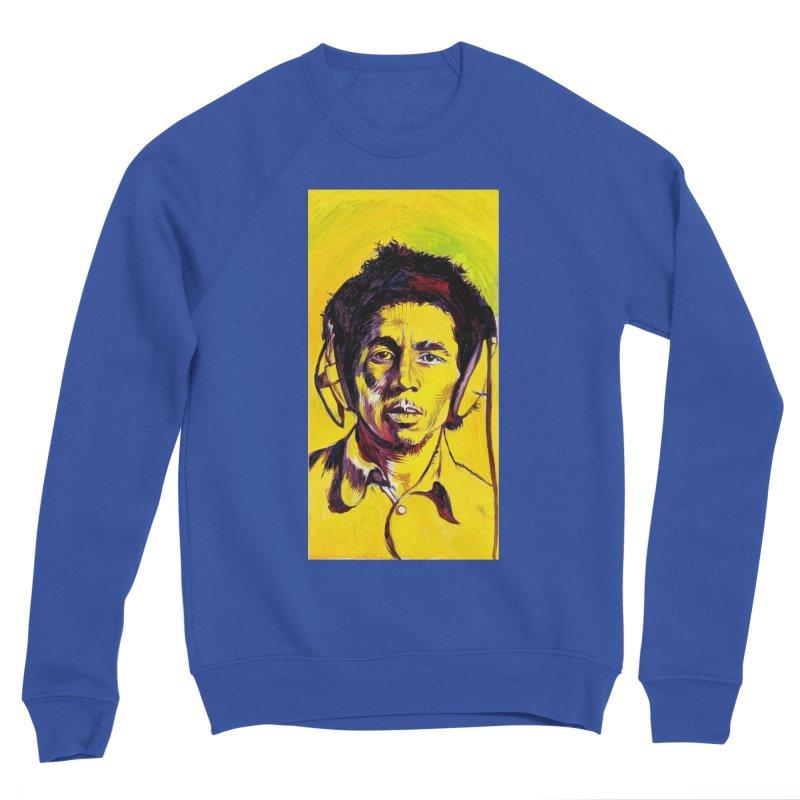 bob Men's Sweatshirt by paintings by Seamus Wray