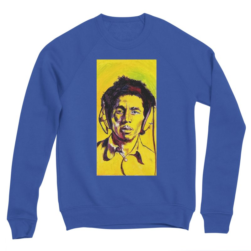 bob Women's Sponge Fleece Sweatshirt by paintings by Seamus Wray