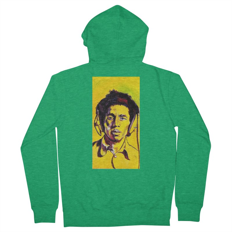 bob Men's Zip-Up Hoody by paintings by Seamus Wray