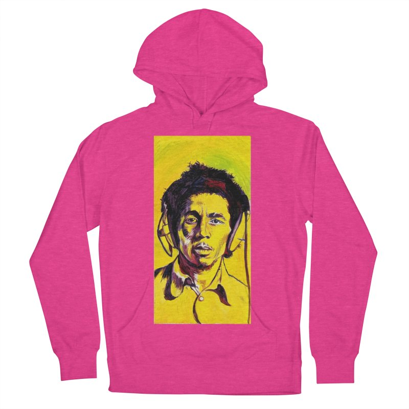 bob Women's French Terry Pullover Hoody by paintings by Seamus Wray
