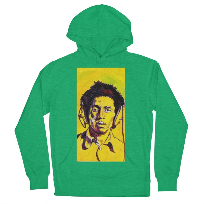bob Men's French Terry Pullover Hoody by paintings by Seamus Wray