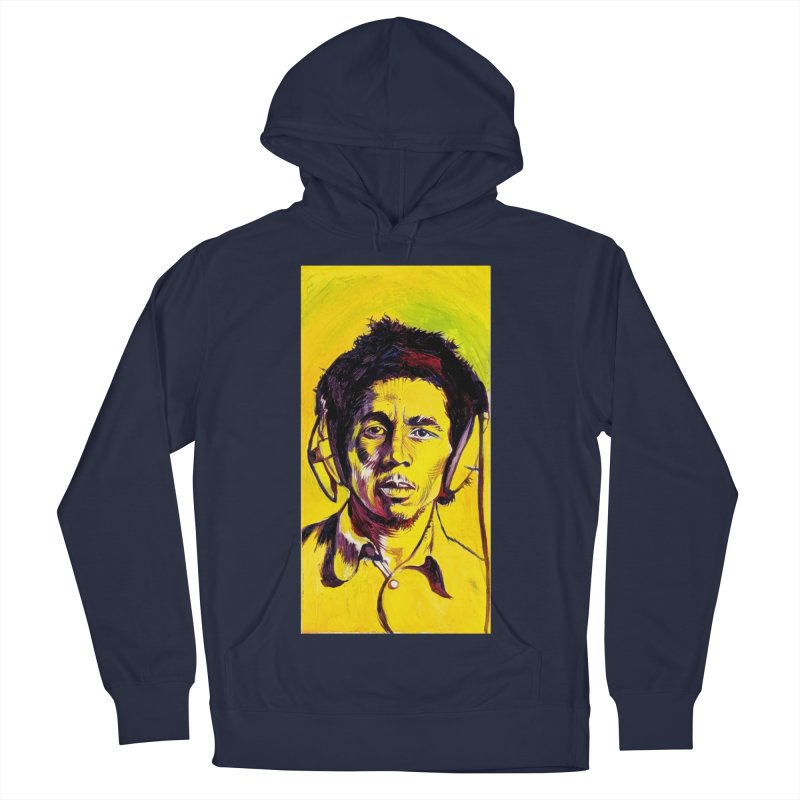 bob Men's Pullover Hoody by paintings by Seamus Wray