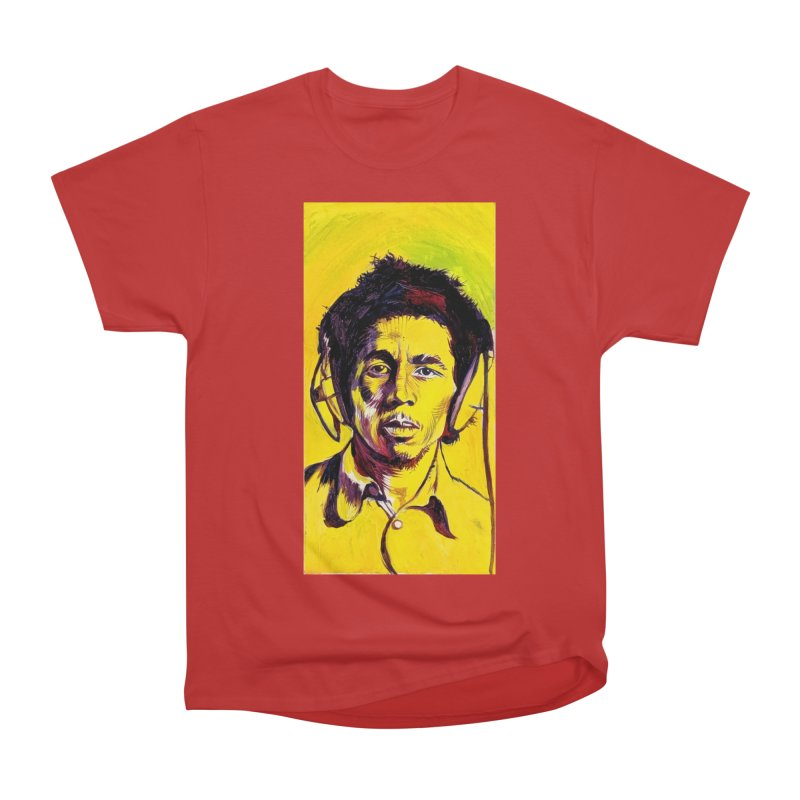 bob Men's Heavyweight T-Shirt by paintings by Seamus Wray
