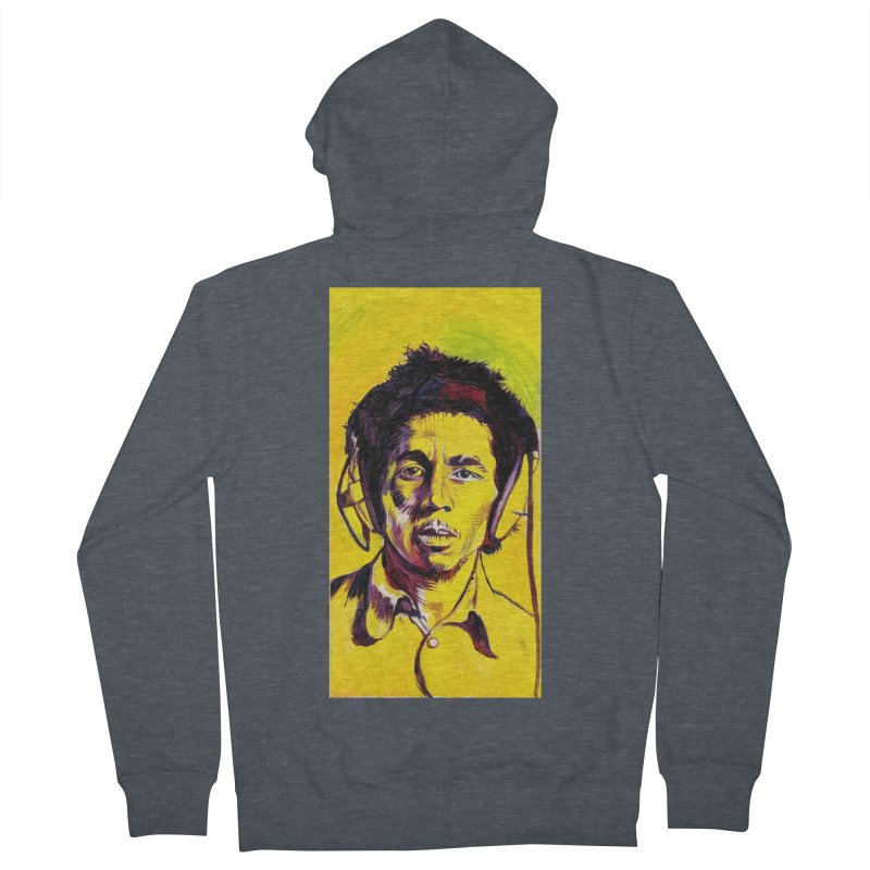 """bob Men's Zip-Up Hoody by Art Prints by Seamus Wray available under """"Home"""""""