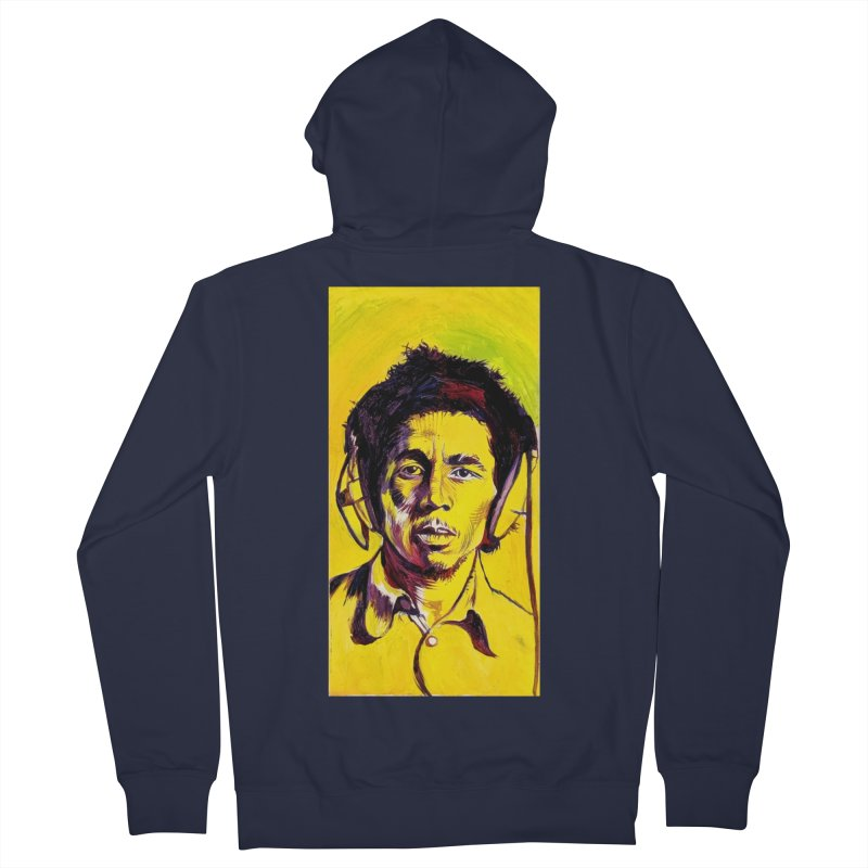 """bob Men's Zip-Up Hoody by Art Prints by Seama available under """"Home"""""""