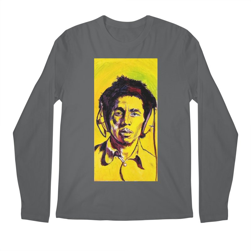 bob Men's Longsleeve T-Shirt by paintings by Seamus Wray