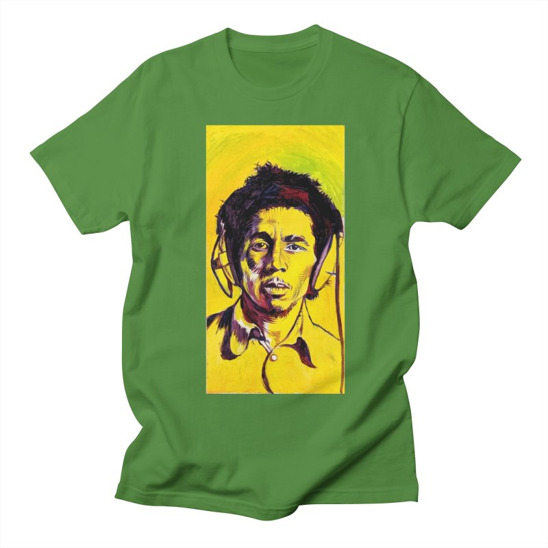 bob Men's T-Shirt by paintings by Seamus Wray
