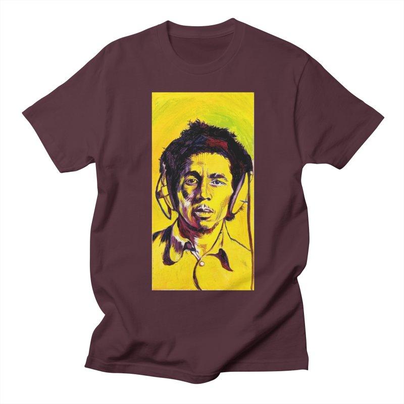 bob Women's Regular Unisex T-Shirt by paintings by Seamus Wray