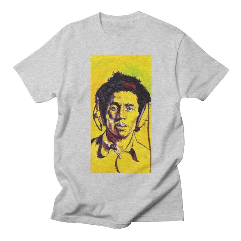 bob Men's Regular T-Shirt by paintings by Seamus Wray