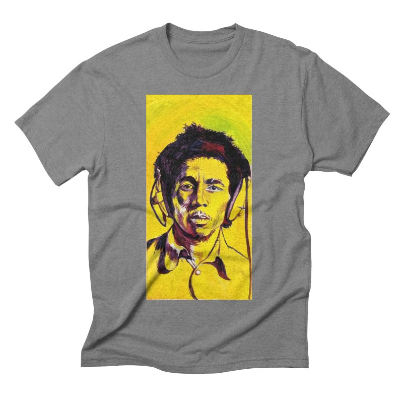 bob Men's Triblend T-Shirt by paintings by Seamus Wray