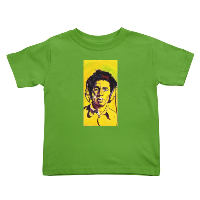 bob Kids Toddler T-Shirt by paintings by Seamus Wray