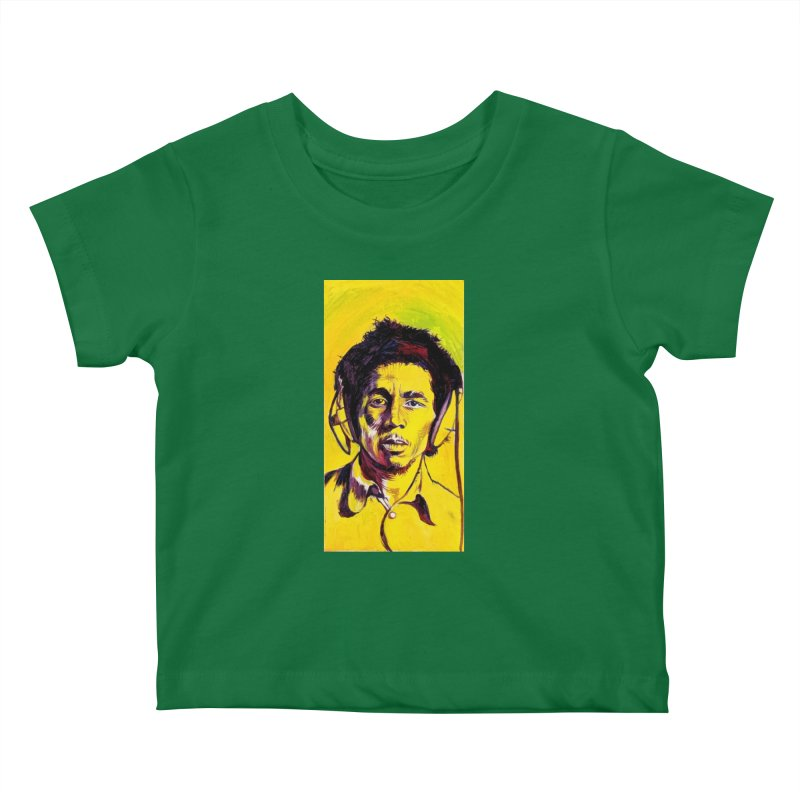 bob Kids Baby T-Shirt by paintings by Seamus Wray