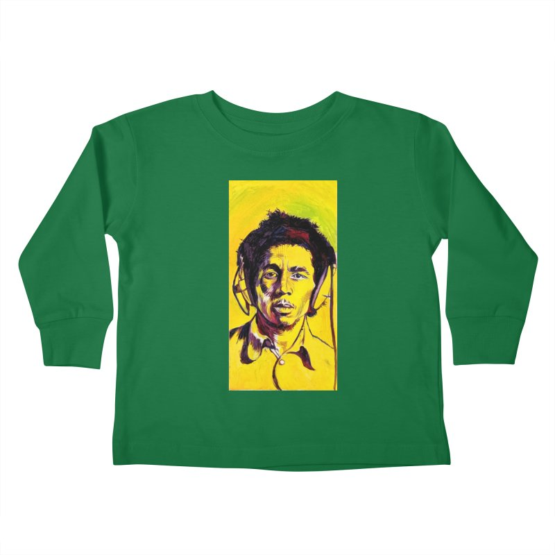 bob Kids Toddler Longsleeve T-Shirt by paintings by Seamus Wray