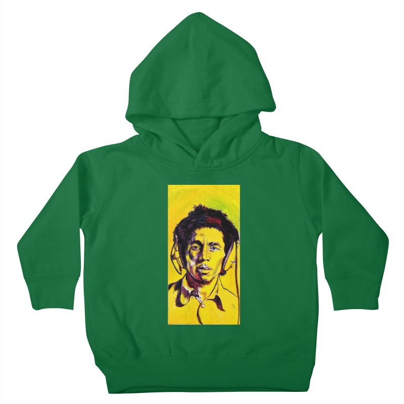 bob Kids Toddler Pullover Hoody by paintings by Seamus Wray