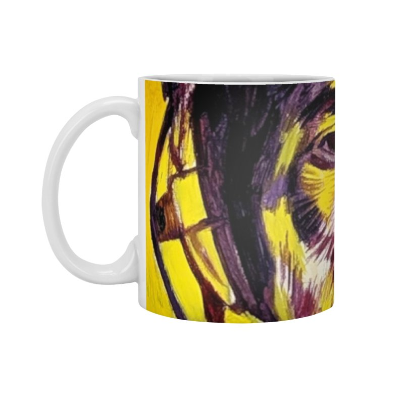 bob Accessories Standard Mug by paintings by Seamus Wray