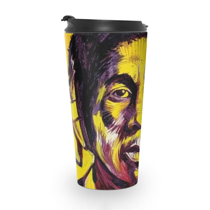 bob Accessories Travel Mug by paintings by Seamus Wray