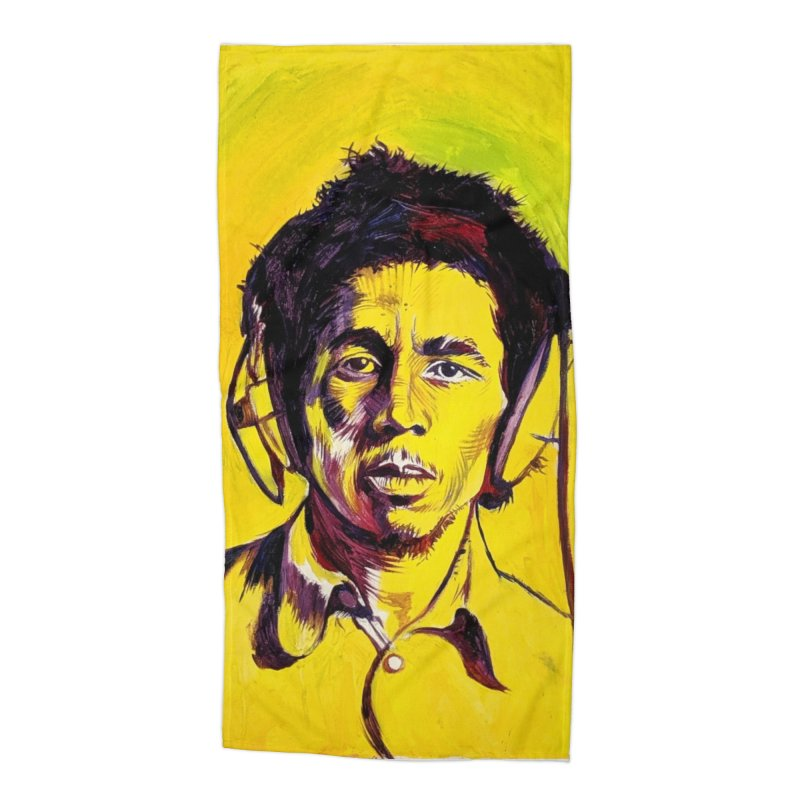 bob Accessories Beach Towel by paintings by Seamus Wray
