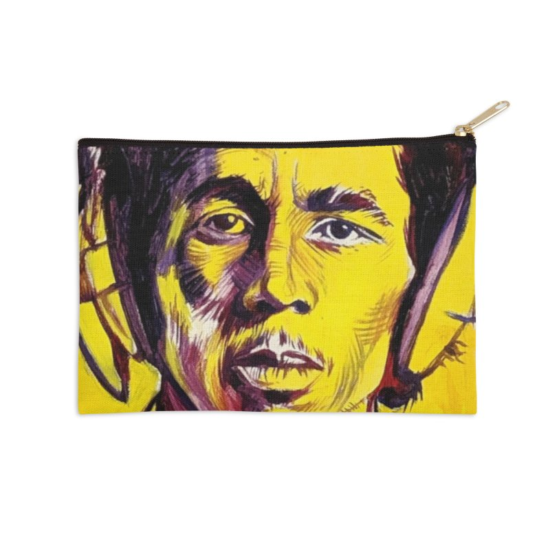 bob Accessories Zip Pouch by paintings by Seamus Wray