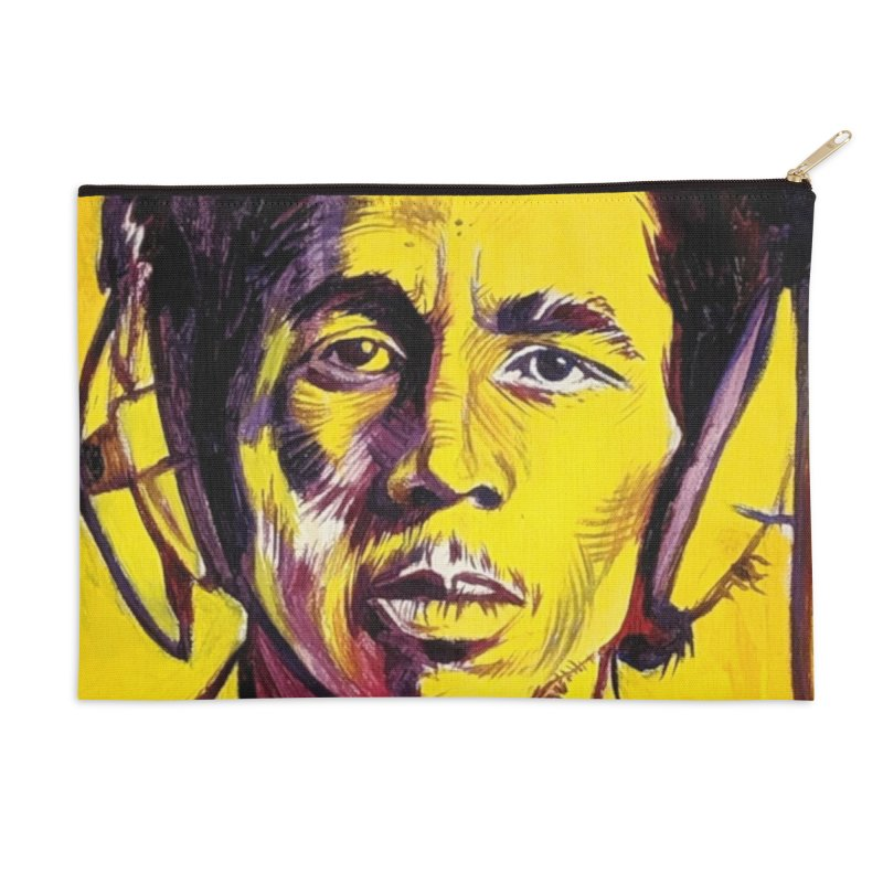 """bob Accessories Zip Pouch by Art Prints by Seama available under """"Home"""""""