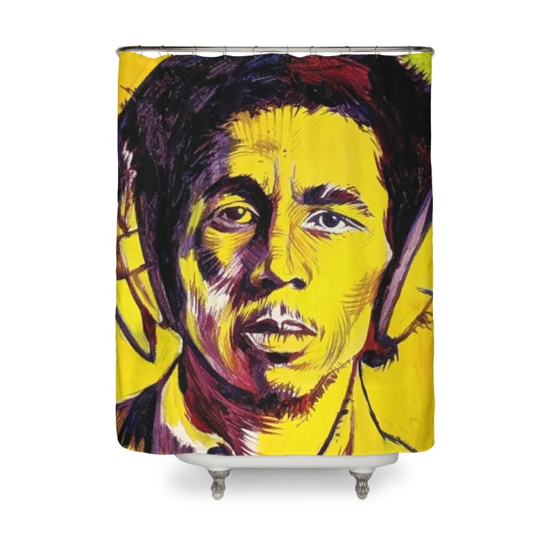 bob Home Shower Curtain by paintings by Seamus Wray