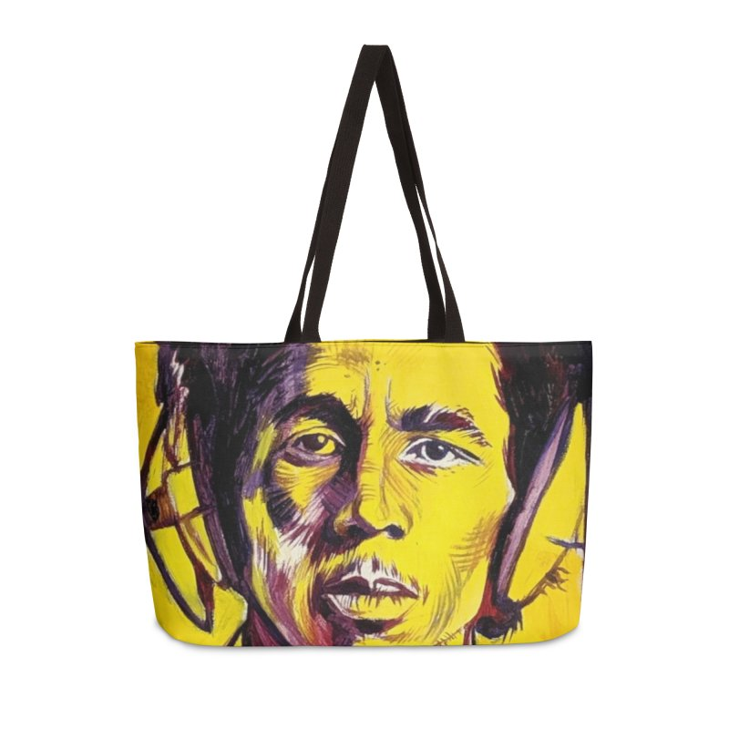 bob Accessories Bag by paintings by Seamus Wray