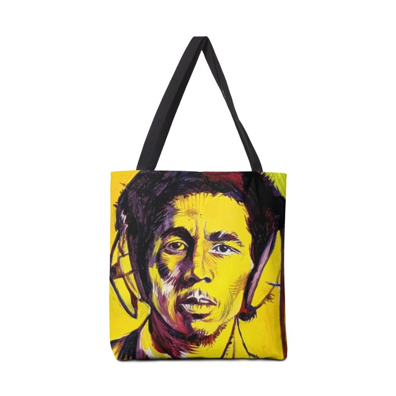 bob Accessories Tote Bag Bag by paintings by Seamus Wray