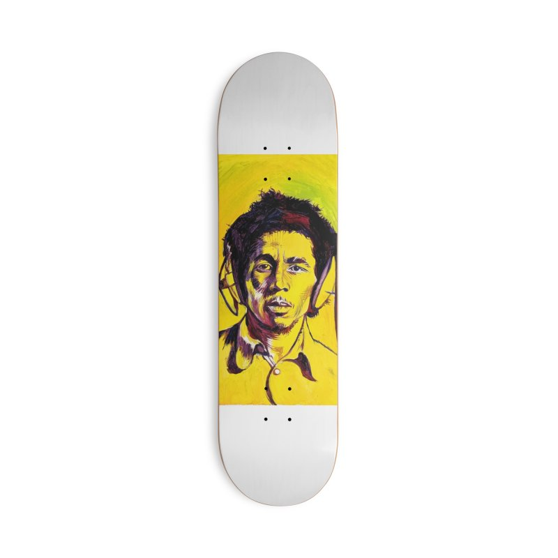 """bob Accessories Skateboard by Art Prints by Seamus Wray available under """"Home"""""""