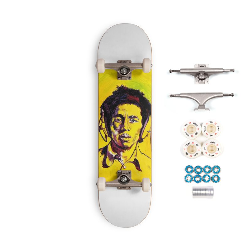 bob Accessories Complete - Premium Skateboard by paintings by Seamus Wray
