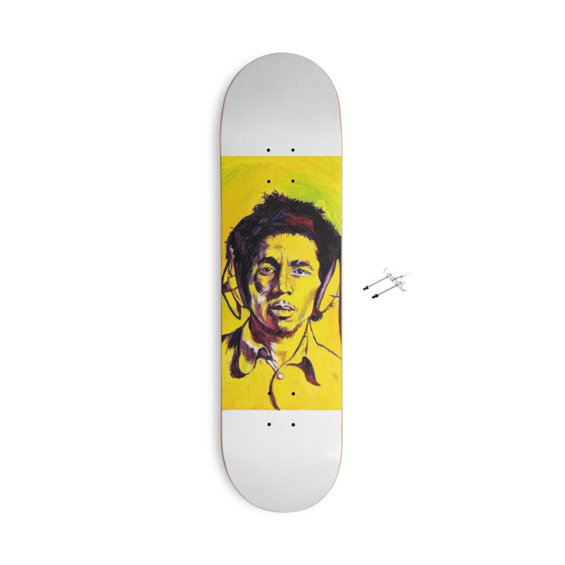 bob Accessories With Hanging Hardware Skateboard by paintings by Seamus Wray